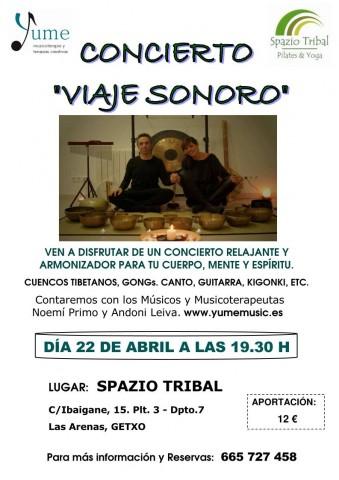 CONCIERTO CUENCOS SPAZIO TRIBAL 22-4-16