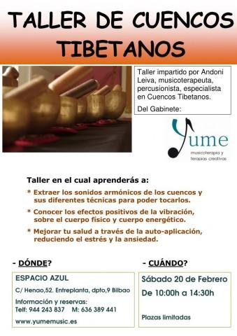 Taller Cuencos E. AZUL FEBRERO S-P