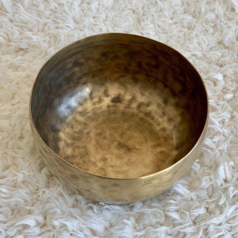 Cuenco Tibetano Antiguo 7 Metales Thadopati (T1)